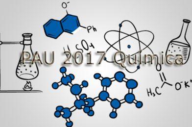 PAU 2017 Selectividad Química Junio Opción B (Solución)