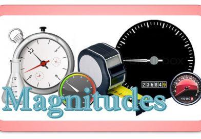 Magnitudes básicas y derivadas