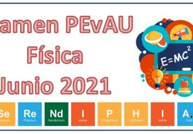 Examen PEvAU Física 2021 Resuelto