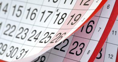 Calendario de Grupo 1º Bachillerato D