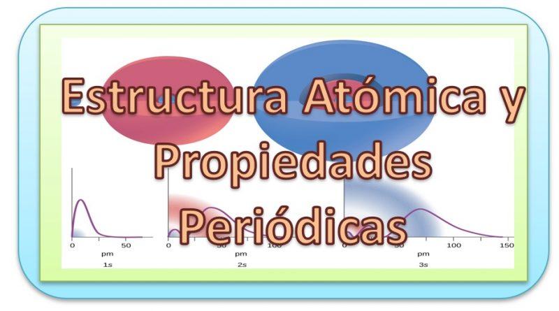 Estructura interna de la Materia. Tabla Periódica. Propiedades Periódicas.